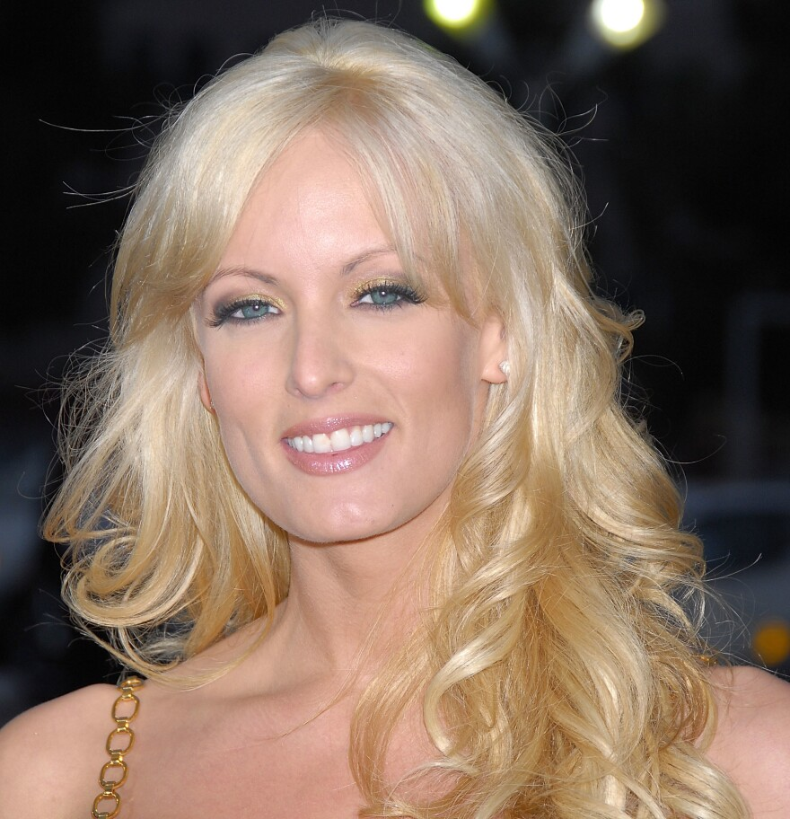 """Actress Stormy Daniels, whose legal name is Stephanie Clifford, is offering to return what she calls """"hush money"""" to President Trump in exchange for the right to speak freely about their alleged affair."""