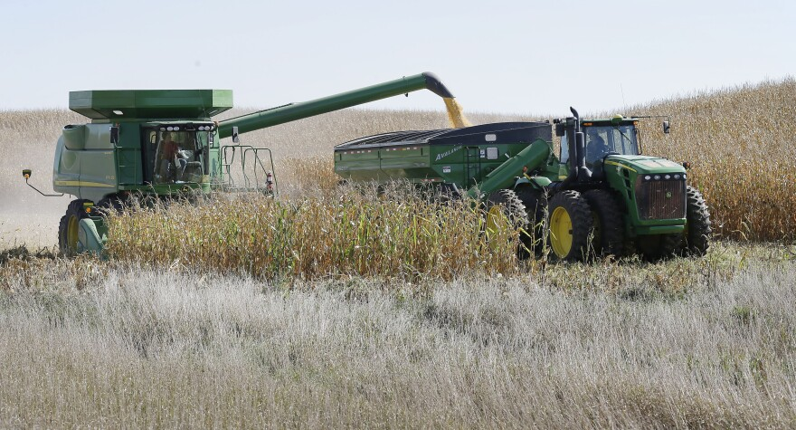 Farmers in Iowa are among those around the country who will get help coping with climate change through a new federal program.