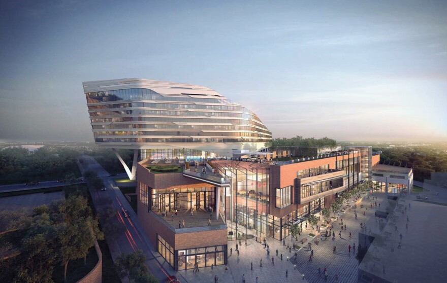 Pro Football Hall of Fame Village Hotel Concept