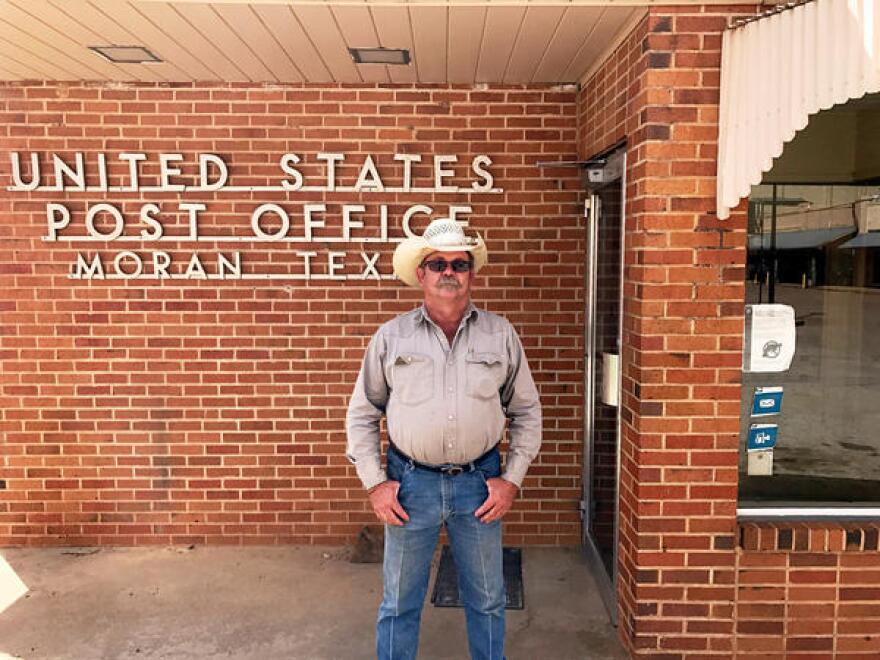 Shackleford County Commissioner Lanham Martin, who lives in Moran, says the town's post office would have shut down without the business from Slide Fire Solutions.