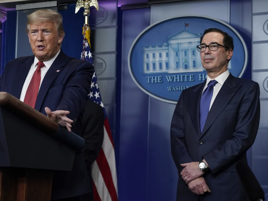 Treasury Secretary Steven Mnuchin previously estimated that payments to qualifying Americans would go out by mid-April.