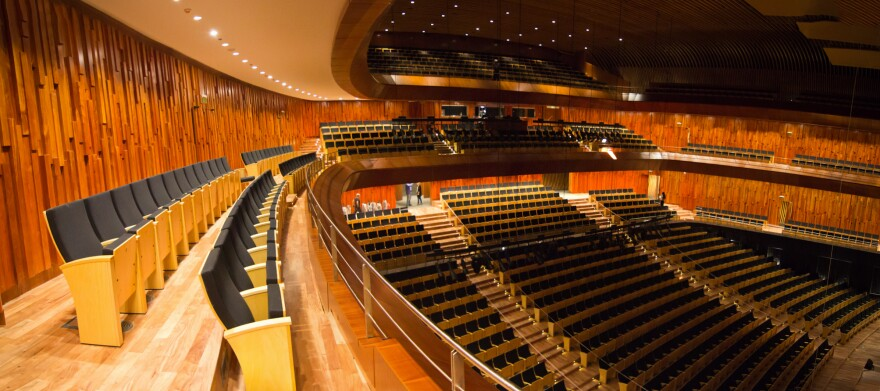 """The """"Blue Whale"""" auditorium can hold 1,750 people."""