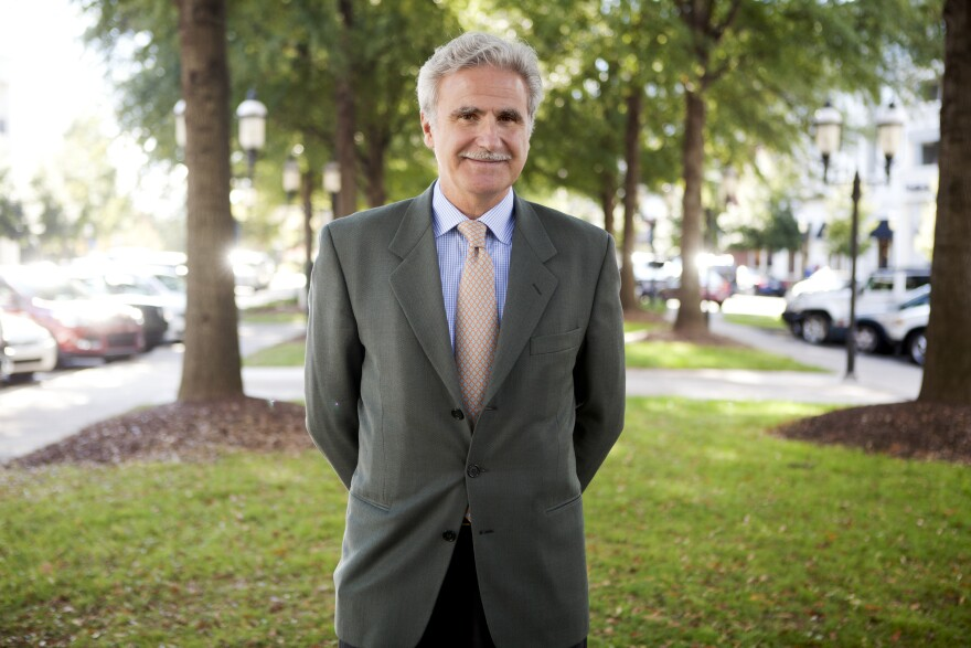 Originally from Buenos Aires, Argentina, Carlos Salum is a leadership performance adviser and the founder of Salum International Resources Inc. He says the first reason he moved to Charlotte was for the weather.