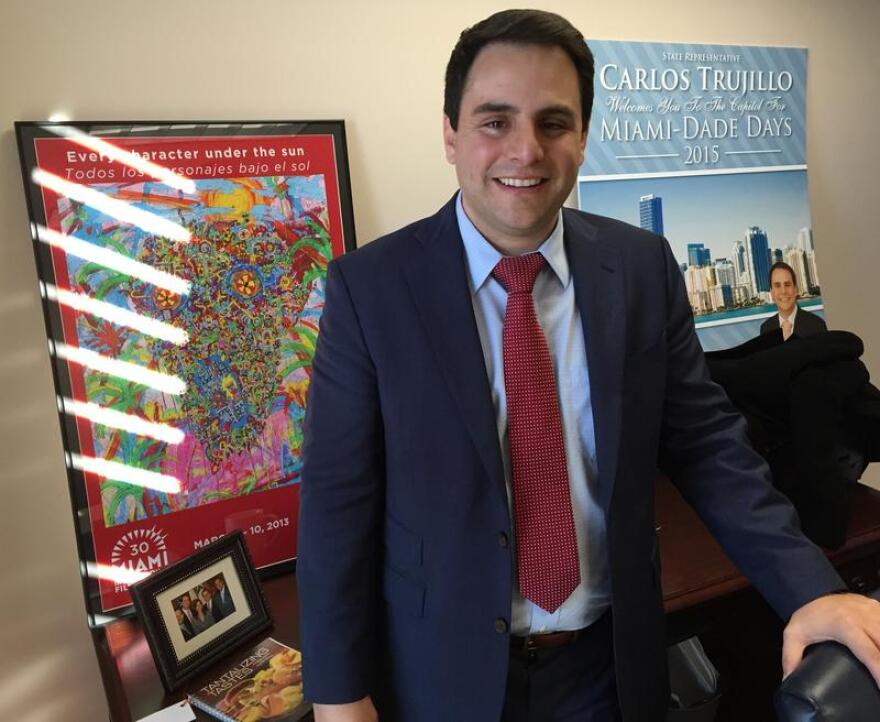 Rep. Carlos Trujillo (R) talks health care, immigration and guns.