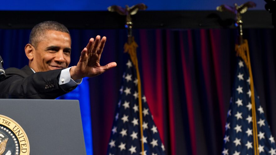 President Obama addresses the Planned Parenthood national conference in Washington on Friday.