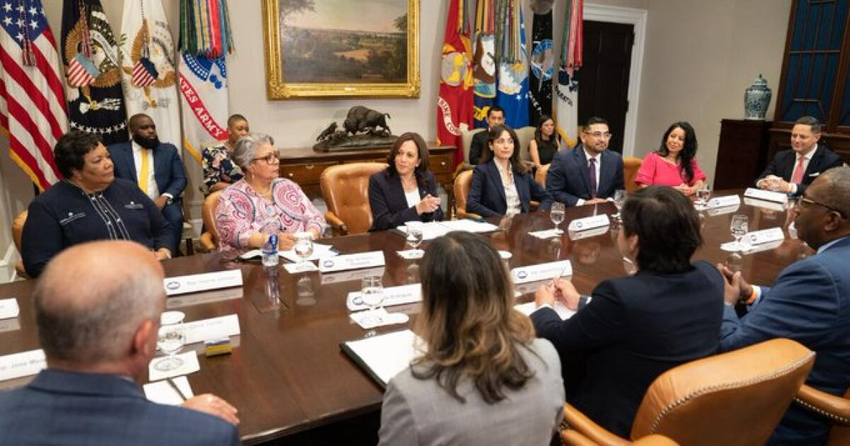 In White House Meeting, Kamala Harris Applauds Texas Democrats' Voting Bill Walkout; Pushes Federal Election Law Changes