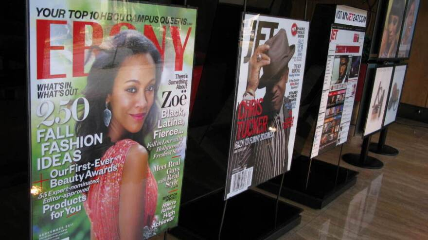 Circulation figures for Johnson Publishing's flagship <em>Ebony</em> and <em>Jet</em> magazines are up substantially in recent months.