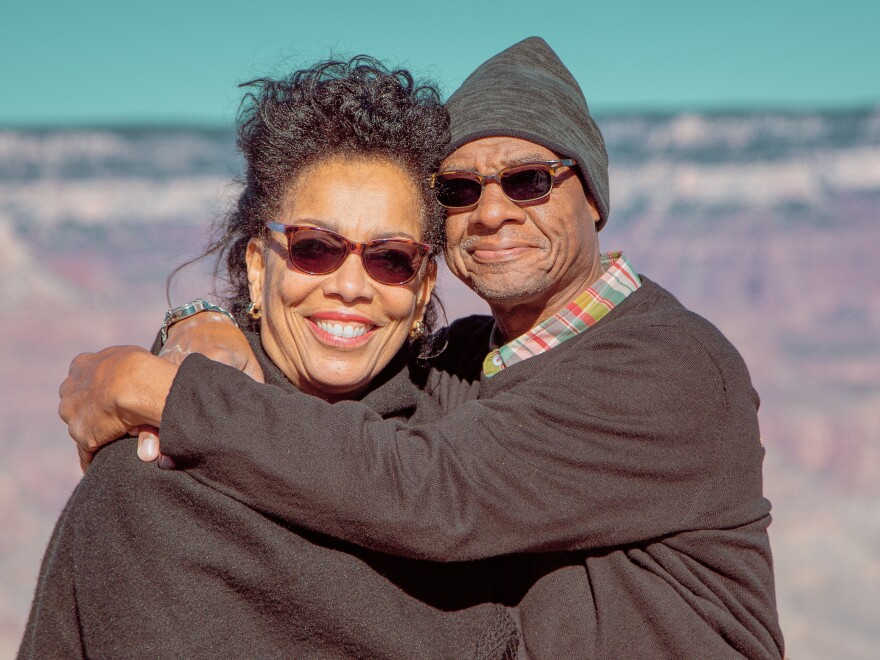Wendy and Robert Jackson have been married for 15 years and now are social distancing at home.