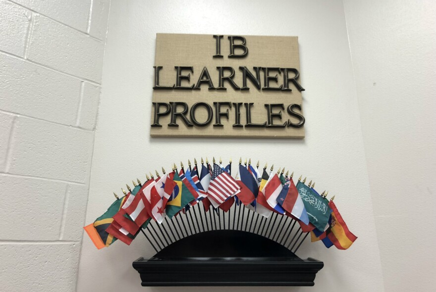 The IB Learner Profiles encourages students to be open minded, think critically and embrace other characteristics that help them learn and communicate.