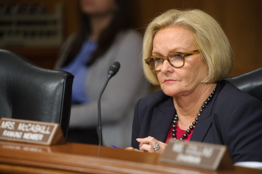 U.S. Sen. Claire McCaskill, D-Mo., has promised to help get a contribution limit measure on next year's ballot. But other Democratic officials have promised such a move and haven't delivered.