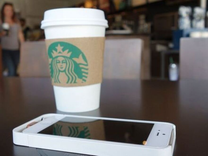 Soon, you'll be able to recharge at Starbucks, and charge your device.