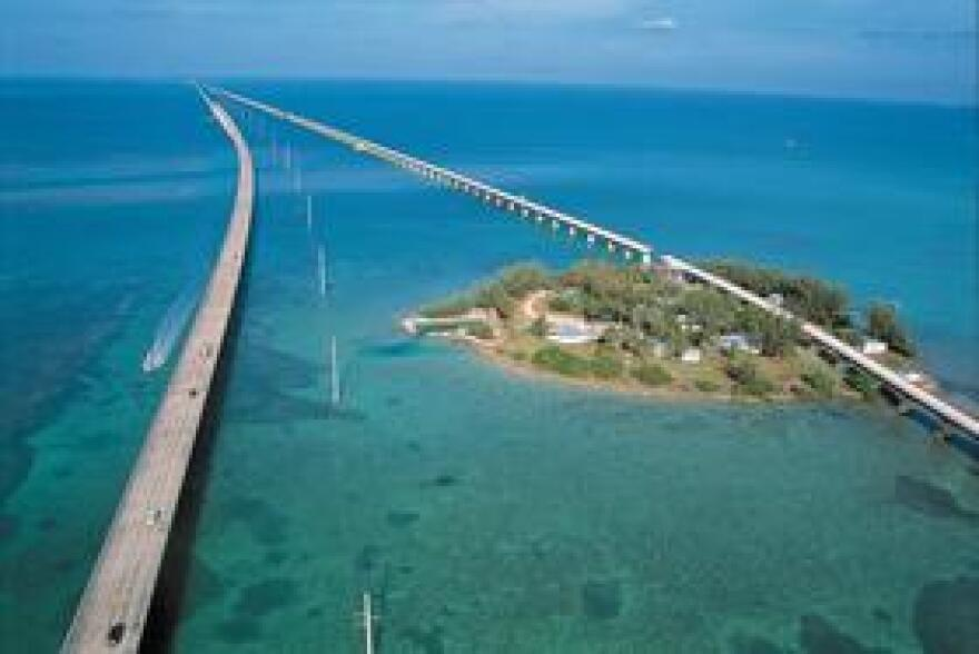 The famous Seven-Mile Bridge is a gateway for millions of visitors every year to the Florida Keys. A Senate panel voted Wednesday to spend $20 million on environmental projects, including wastewater treatment upgrades.