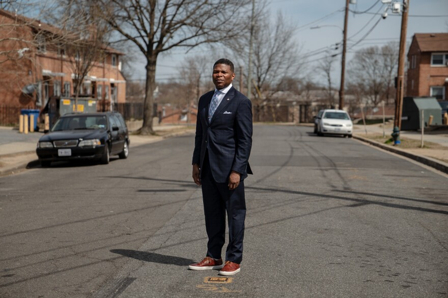 """Tyrone Garrett, executive director of the District of Columbia Housing Authority, says some residents are living in homes that are """"decaying around them."""""""
