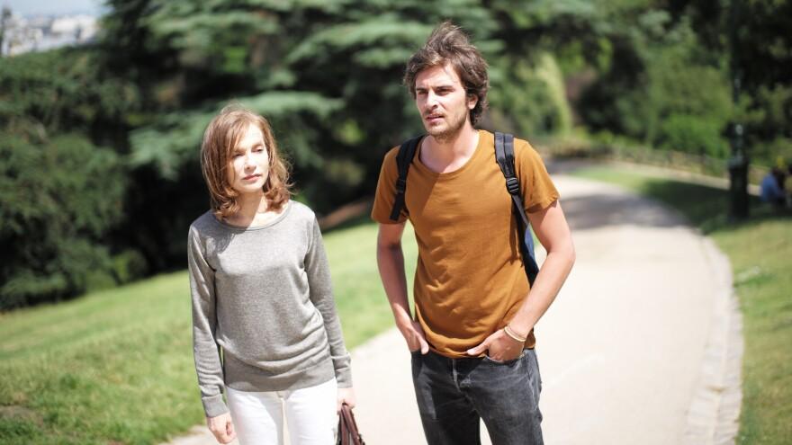 Isabelle Hupert and Roman Kolinka in <em>Things to Come,</em> a film by Mia Hansen-Løve<em>.</em>