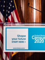 The Census Bureau announced Wednesday that it is temporarily suspending field operations for the 2020 census until April 1. Households, however, can continue to respond on their own online, over the phone or by paper.