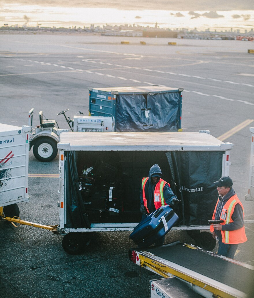 Airport workers across the state have been laid off as the number of coronavirus cases in Florida grows.