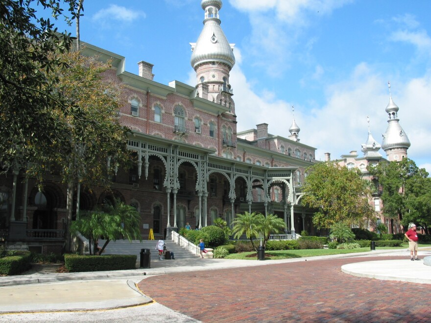 The Tampa Bay Hotel will have 178 of its exterior windows restored.
