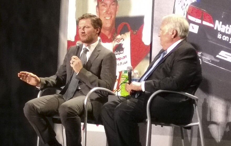 NASCAR driver Dale Earnhardt Jr. talks about his decision to retire at the season's end, with team owner Rick Hendrick.