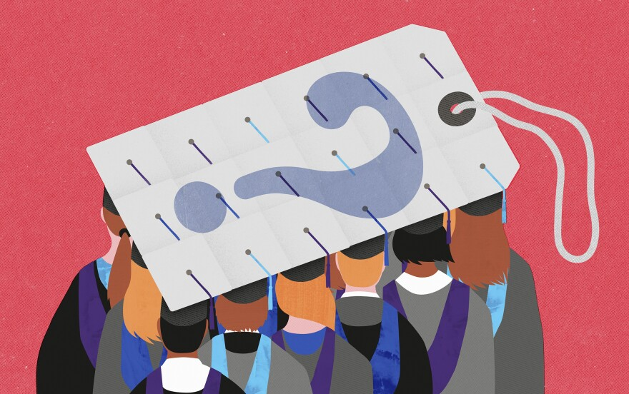 Many Americans who get overwhelmed by student loan debt are told that student debt can't be erased through bankruptcy. Now more judges and lawyers say that's a myth and bankruptcy can help.