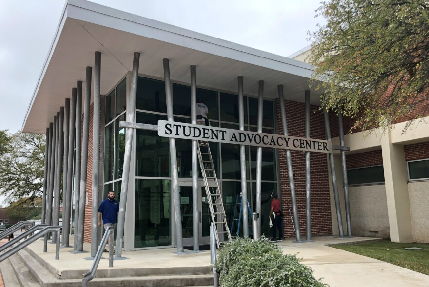 San Antonio College moved its student resource center into its own building in the fall of 2018.  It was previously housed in a couple of  classrooms.