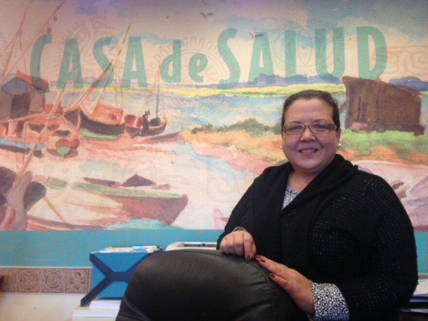 Anna Castro has worked as a receptionist for Casa de Salud since 2010.