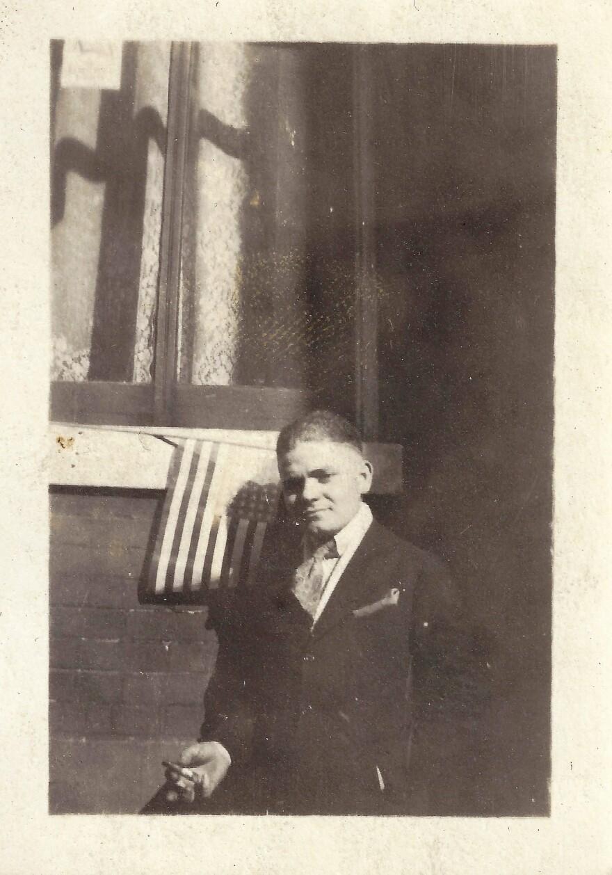 Max Carl in 1918