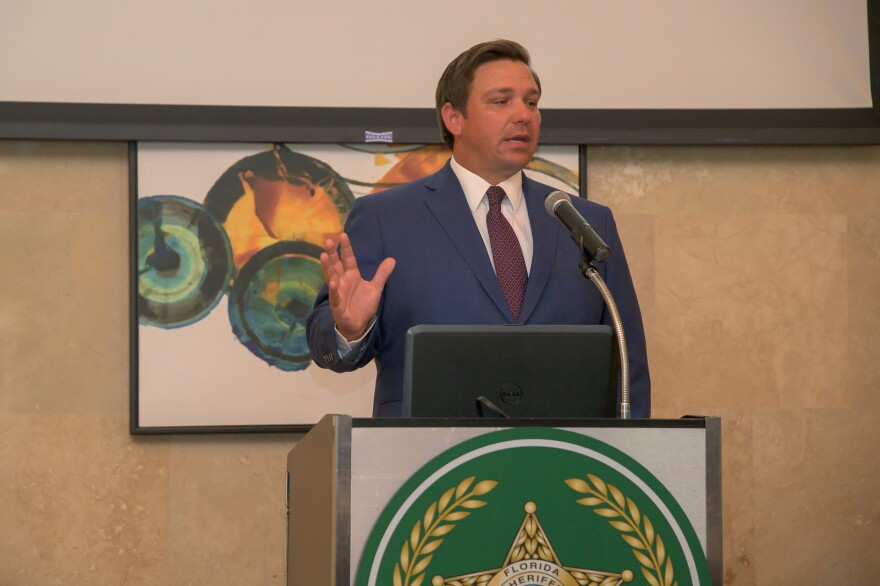 Florida Gov. Ron DeSantis and the Department of Corrections are preparing to deputize state correctional officers as federal immigration enforcement agents.