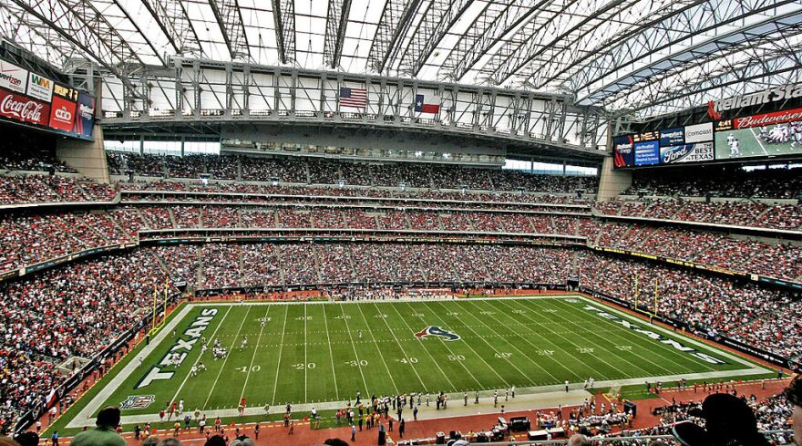 Houston ended up getting an expansion team after the Oilers left for Nashville. The Houston Texans play in state-of-the-art NRG Stadium.