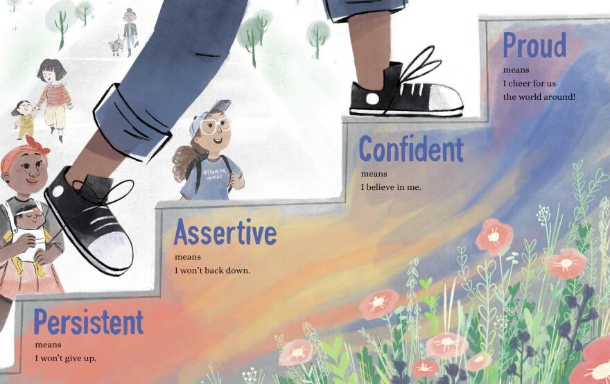 Persistent, Assertive, Confident, Proud