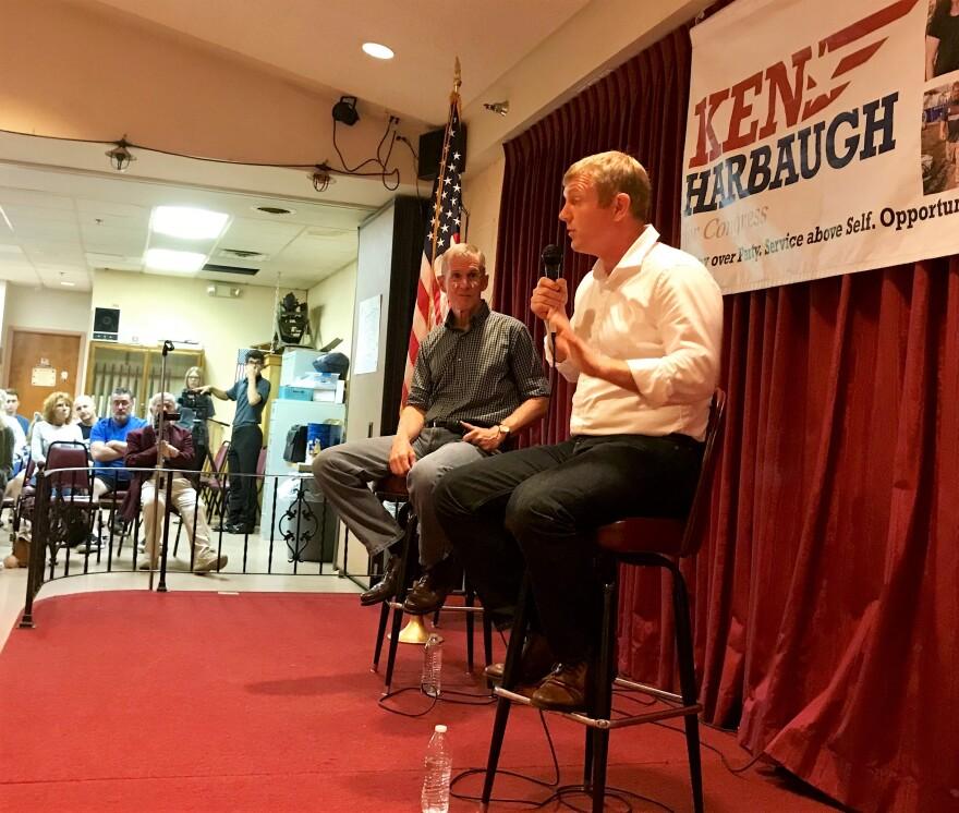 Photo of retired Gen. Stanley McChrystal endorsing Ken Harbaugh.