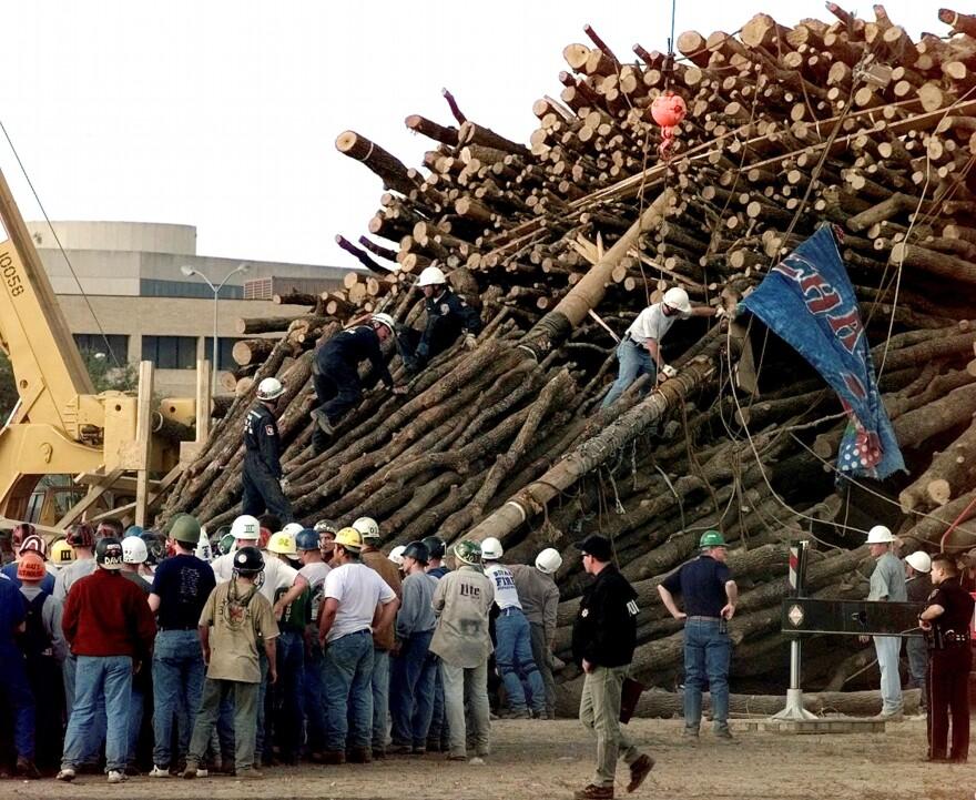 bonfire collapse