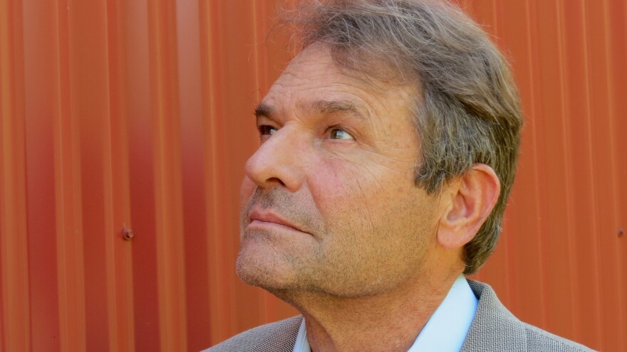 Author Denis Johnson, pictured here in 2013, died in May of 2017. The new posthumously published collection, <em>The Largesse of the Sea Maiden, </em>features five of Johnson's short stories.
