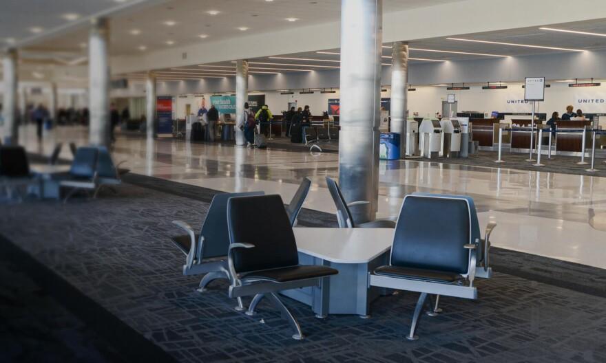 Dayton International Airport.