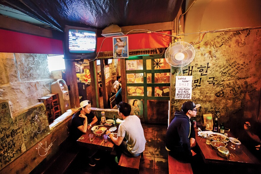 Along with recipes, <em>Koreatown</em> features interviews, essays and original photos from Korean restaurants across the country.