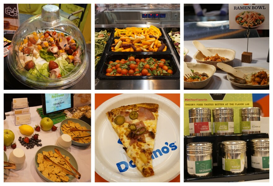 The School Nutrition Association showcased vendors with various food products that are being introduced to school districts across the country on July 15, 2019.