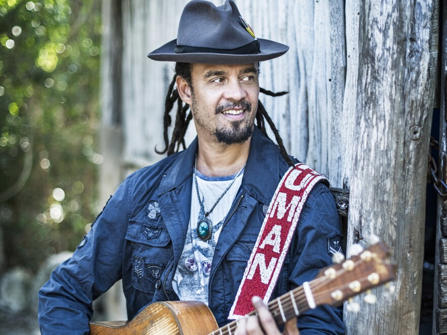 Michael Franti photographed in Riviera Maya, Mexico, in Feb. 17, 2018.