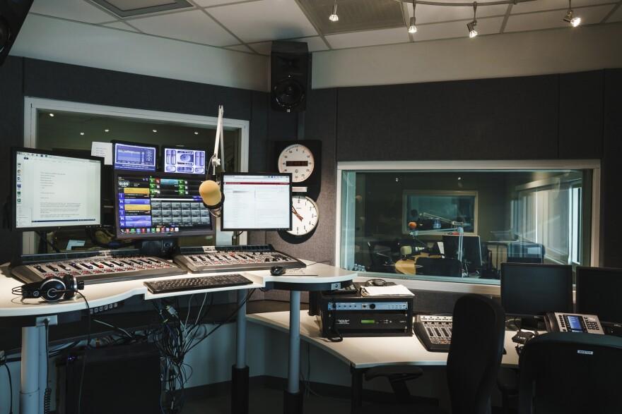 Photo of KUER studios.