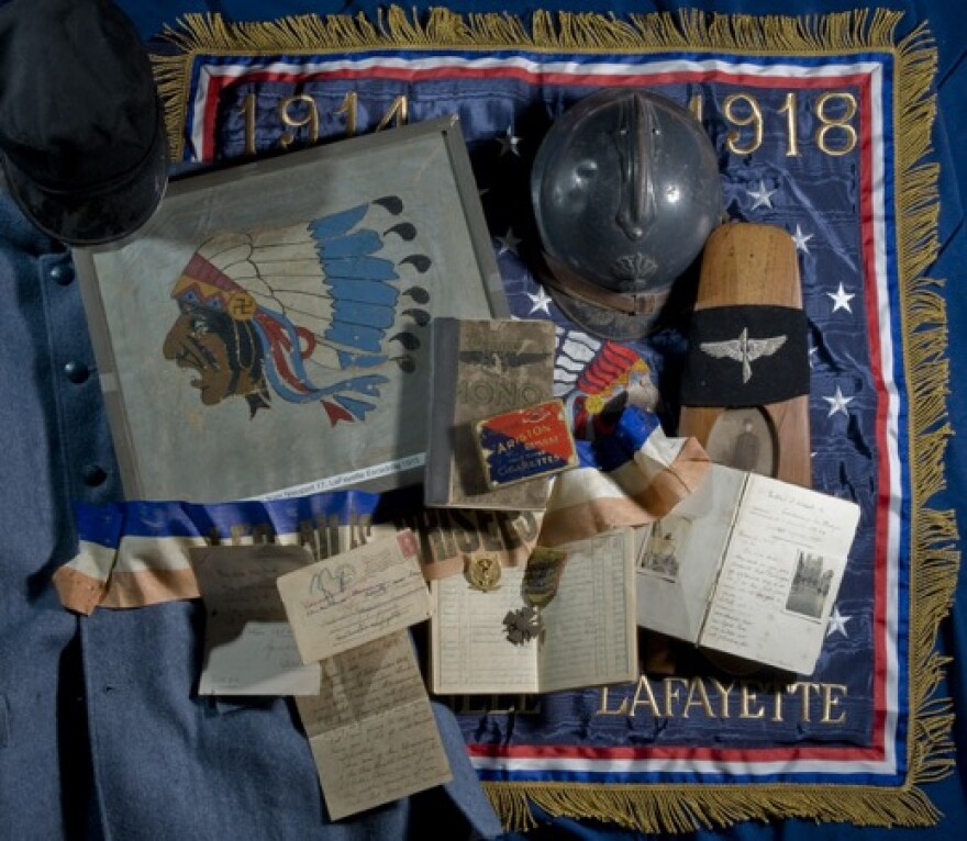 Before the United States declared war in 1917, the exploits of the Lafayette Escadrille inspired over 200 volunteers who flew in other escadrilles and became known as the Lafayette Flying Corps.