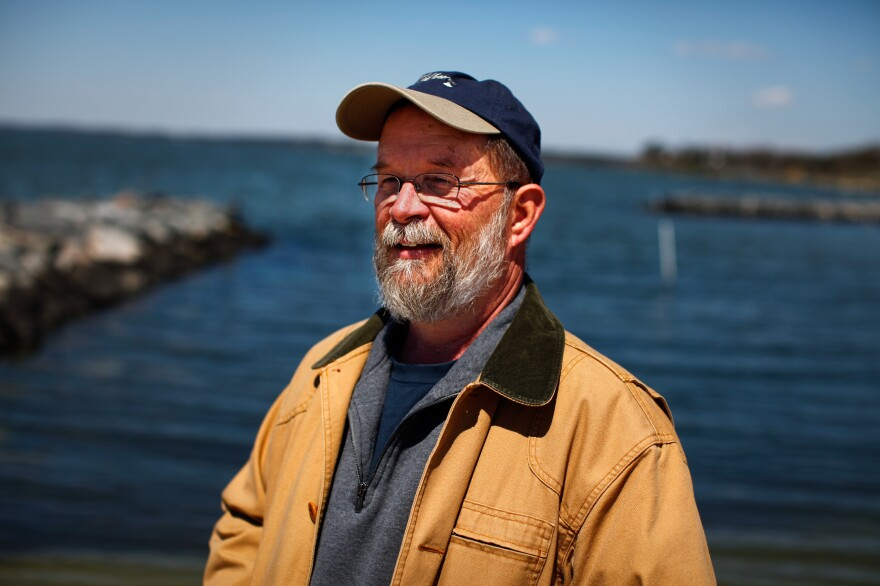 Carl Hershner, a climate scientist at the Virginia Institute of Marine Science,  says that some coastal sites might actually be sinking because pumping out groundwater causes soil to settle.