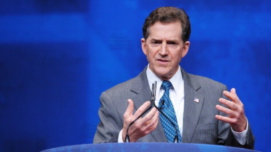 Sen. Jim DeMint, R-S.C., speaks during to the Conservative Political Action Conference in Washington, D.C., on Feb. 9.