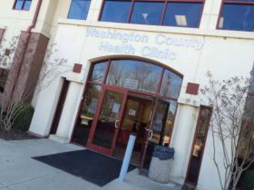 Washington County Arkansas Department of Health Clinic.