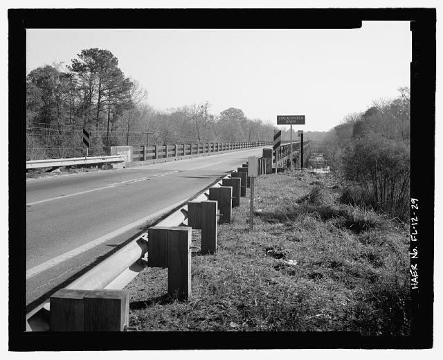 State Road 20 stretches over the Apalachicola River between rural Calhoun and Liberty Counties.
