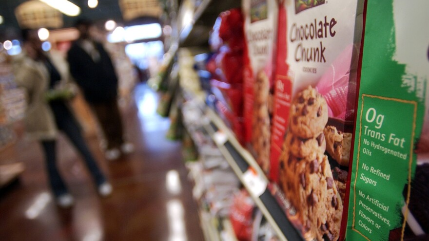 """About 84 percent of food products that contain trans fats still carry a """"zero gram"""" label, which may mislead consumers, researchers say."""