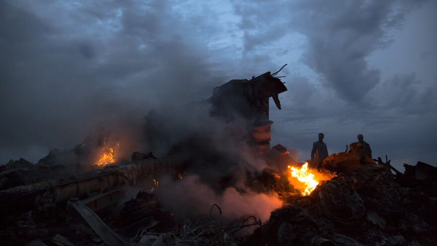 Malaysia Airlines Flight 17 was shot down on July 17 in eastern Ukraine. <em>The New York Times</em> reporter Sabrina Tavernise was one of the first reporters to arrive at the scene.