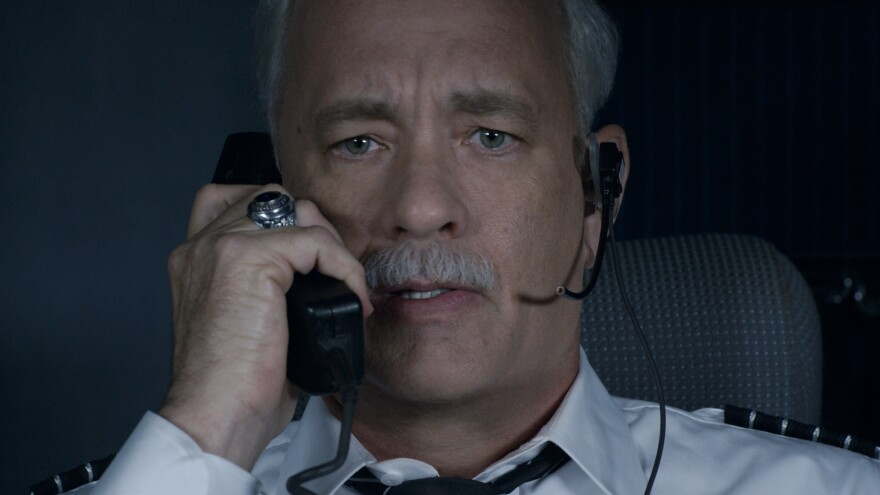 """In <em>Sully,</em> Tom Hanks plays Chesley """"Sully"""" Sullenberger, the airplane captain whose unprecedented landing on the Hudson River on Jan. 15, 2009, saved the lives of 155 passengers."""