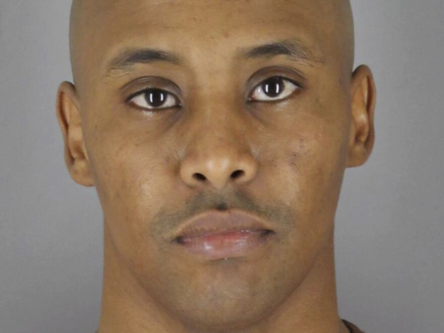 Former Minneapolis Police Officer Mohamed Noor, after he turned himself in to the Hennepin County Jail.