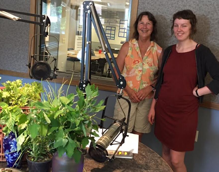 Krista Magaw (left) and her daughter, Anna Carlson will share their techniques for shopping, foraging, storing, and cooking local foods.