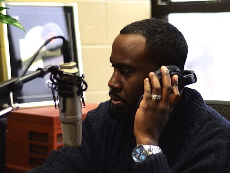 "Chenjerai Kumanyika worries that having a ""public radio"" voice won't allow him to sound like himself."