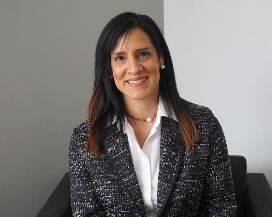 Patricia Cavazos-Rehg is an associate professor in the Washington University School of Medicine's Department of Psychiatry.