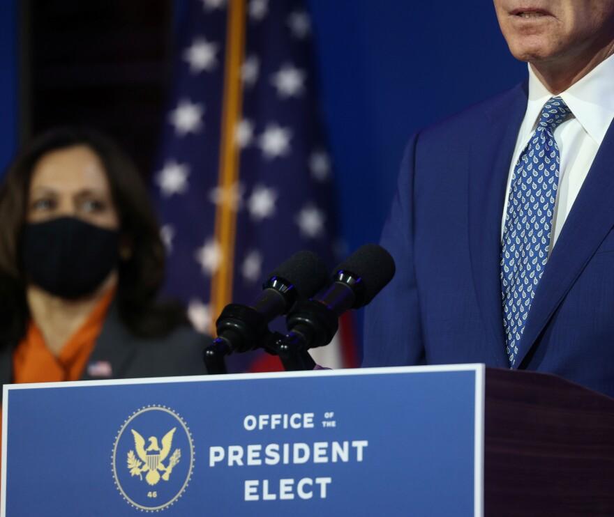 U.S. President-elect Biden meets with members of transition coronavirus advisory board in Wilmington, Delaware